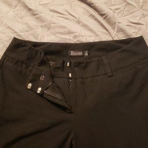 12 Tall NY and Company Black Dress Pants